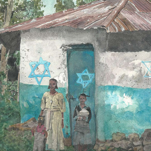 Sub-Saharan Synagogues Exhibit