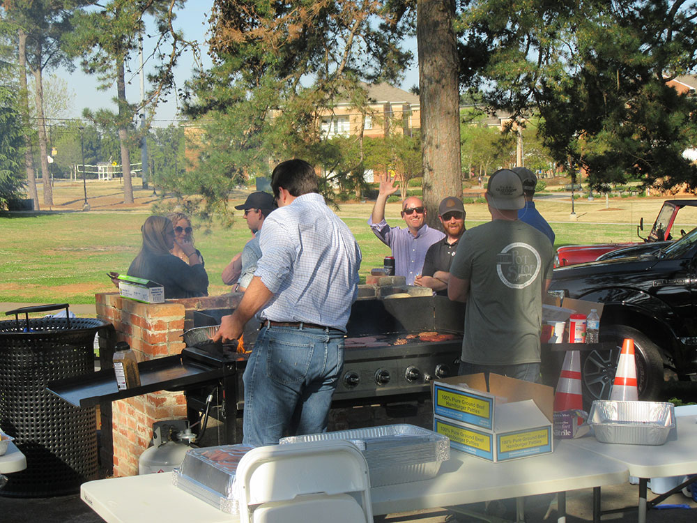 Construction Management Cookout
